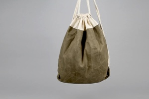 Daniel Drawstring Bag - Moss Green
